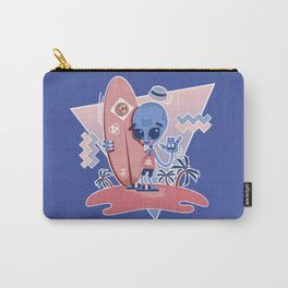 Alien Surf - Serenity & Rose Quartz Carry-All Pouch