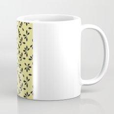 loves me loves me not pattern - banana yellow Mug