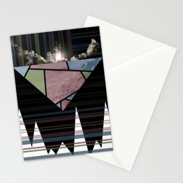 Abstract Fractal Launch Stationery Cards