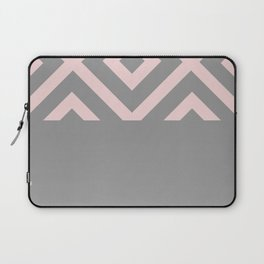 African Details - Grey Pink Laptop Sleeve