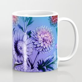 Blue Mums Coffee Mug