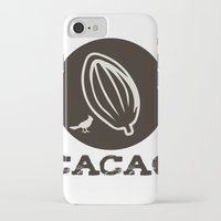 portlandia iPhone & iPod Cases featuring PORTLANDIA: CACAO by MDRMDRMDR
