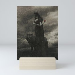 By the Pricking of Her Thumbs Mini Art Print