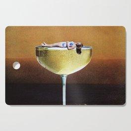 Champagne Sunset Cutting Board