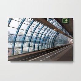 railway station Amsterdam Sloterdijk Metal Print