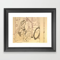 Alyss Heart Framed Art Print