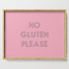 no gluten Serving Tray