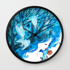 Inspired Wall Clock