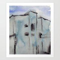 Building No. 1 Art Print