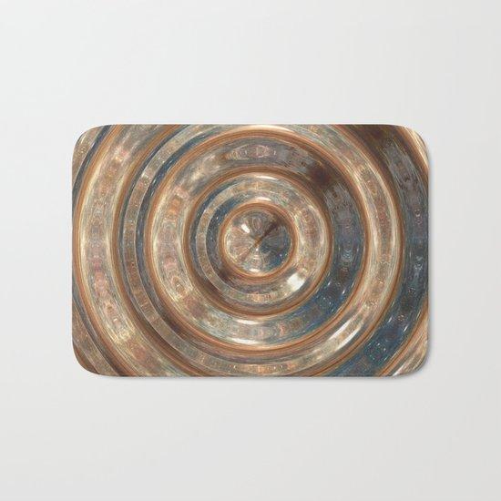Space Swirl no1 Bath Mat