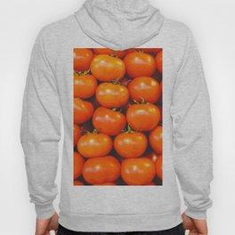 Vintage tomatoes in lines photo Hoody