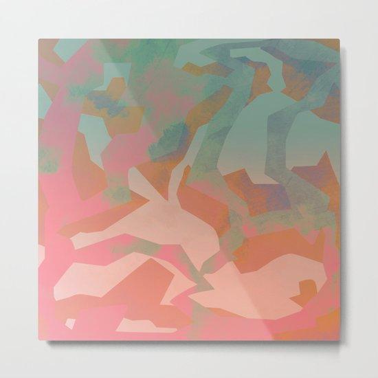 Camouflage IX Metal Print