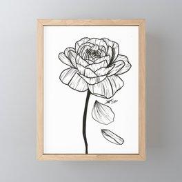 Rose Petals Framed Mini Art Print