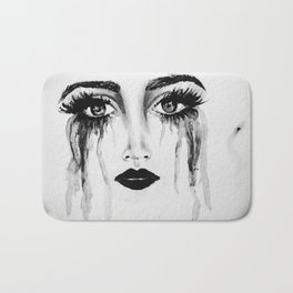 Expressionless Expression Bath Mat