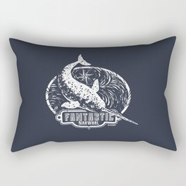 Fantastic Narwhal Rectangular Pillow