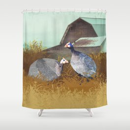 Jenn's Hens Shower Curtain