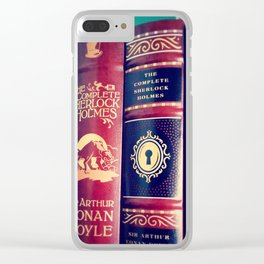 Library of Sherlock Holmes Clear iPhone Case