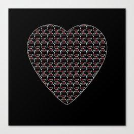 Love or Amor V All Print Over Shirts Canvas Print