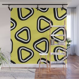 Soft Triangle Wall Mural