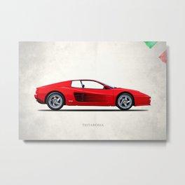 The Testarossa Metal Print