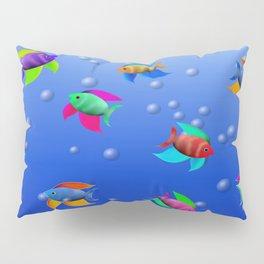 Bright Tropical Fish Pillow Sham