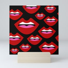 Lips Mini Art Print