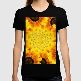 Spinning Sunflowers T-shirt