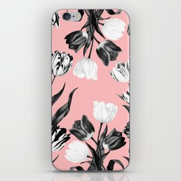Bed Of Tulips iPhone Skin