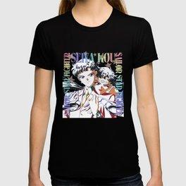 Seiya VS Sailor Star Fighter White Version T-shirt