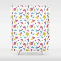 80s Shower Curtains featuring Bring Back the 80s by Sara Wasserboehr