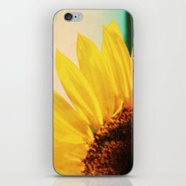 The Energy of Sunflower iPhone Skin