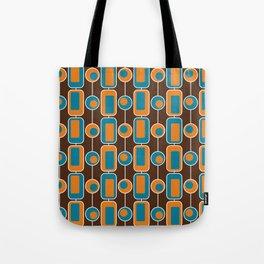 Orange Square Tote Bag