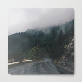 Mountain Rain | Cascade Supply Co. Metal Print