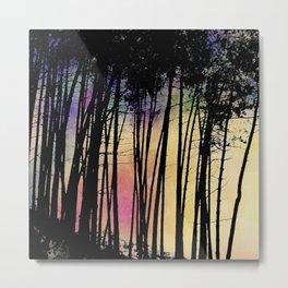 Rainbow World Metal Print