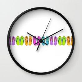 Flip Flop Conga Wall Clock