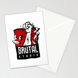 Brutal Studio Logo Stationery Cards
