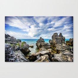 Tobacco Bay Beach, Bermuda Canvas Print
