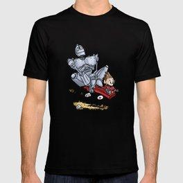 Iron Giant & Hogarth T-shirt