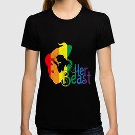 LGBT T-Shirt Funny Her Beast Lesbian Gay Pride Gift Apparel T-shirt