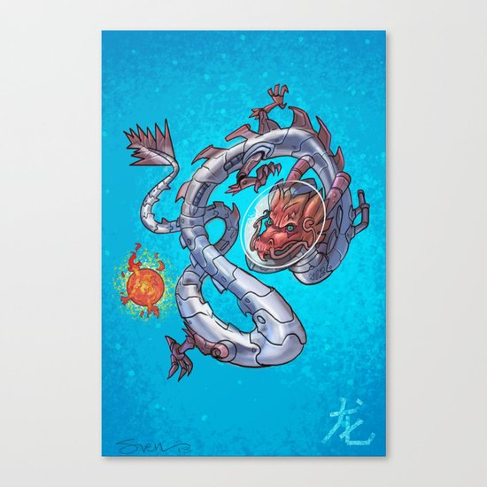 Astro Zodiac Force 05: Dragon Canvas Print