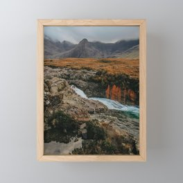 Fairy Pools Scotland Framed Mini Art Print
