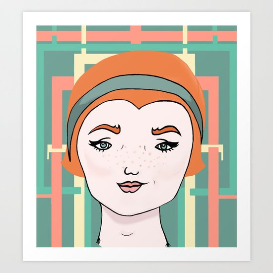 Nance Willow Art Print