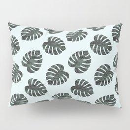 Monstera Pattern Pillow Sham