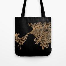 Golden Bird #4 Tote Bag