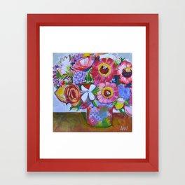 Bouquet after Ken Framed Art Print