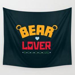 Bear Lover Wall Tapestry