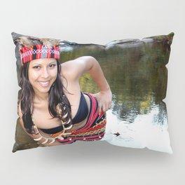Indian Woman Pillow Sham