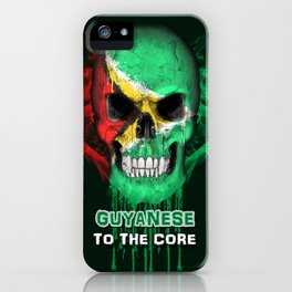 To The Core Collection: Guyana iPhone Case