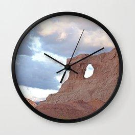 Las Ventanas - Amazing lanscapes in Salta, Argentina Wall Clock