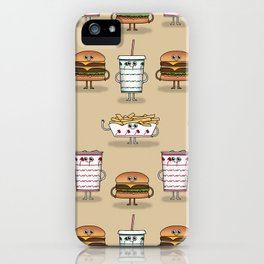 BFF: Meal Deal iPhone Case